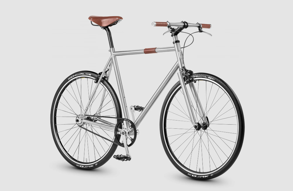 Nua Bikes SC-01: Singlespeed-Rad mit edlem Titan-Rahmen - unhyped.