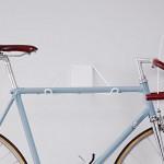 Pincher: Minimalistische Wandhalterung für Fahrräder