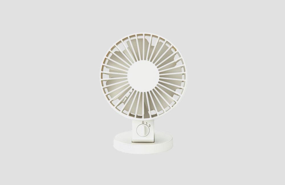 Design-Ventilatoren-Luefter-Geblaese-Gutes-Aussehen-Hitze-Uebersicht-Muji-USB-Ventilator