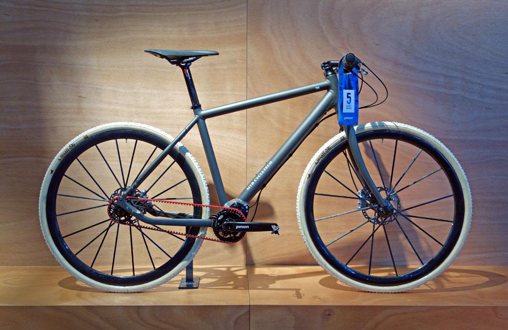 Eurobike-2015-Rundgang-Messe-Besuch-Neuheiten-2016-MTB-Cycletech-Gates-Pinion-Urban-Bike
