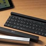 LG Rolly Keyboard: Bluetooth-Tastatur zum Zusammenrollen