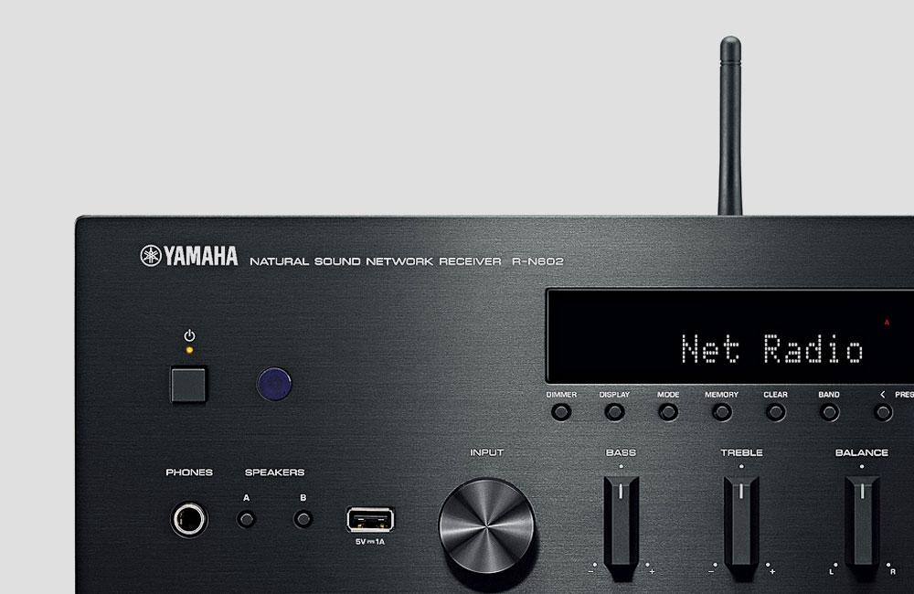 Yamaha R N602 Receiver Flaggschiff Mit Wifi Multiroom
