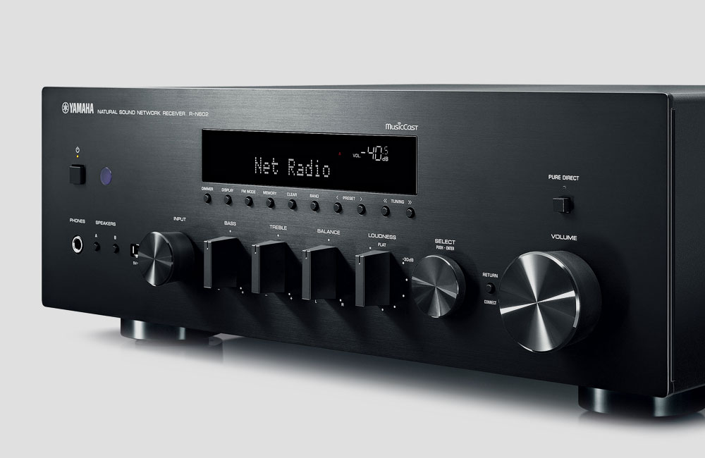 Yamaha-R-N602-Wireless-WiFi-Stereo-HiFi-Receiver-Bluetooth-AirPlay-MultiCast