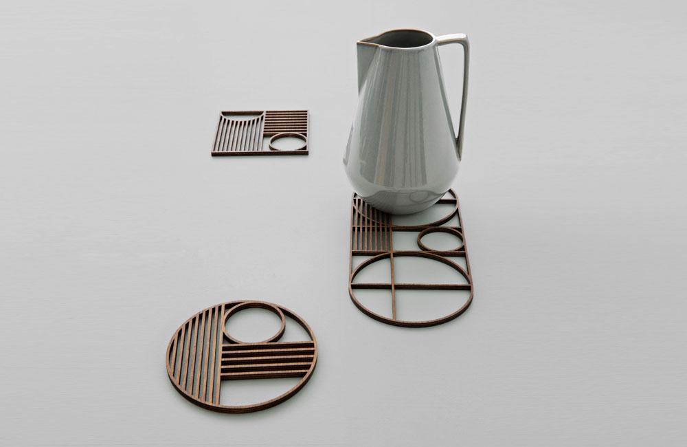 Ferm-Living-Outline-Trivet-Untersetzer-Holz-0