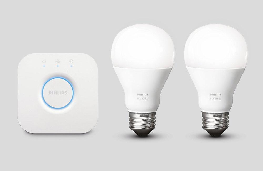 philips hue white smart home beleuchtung starter kit set unhyped. Black Bedroom Furniture Sets. Home Design Ideas