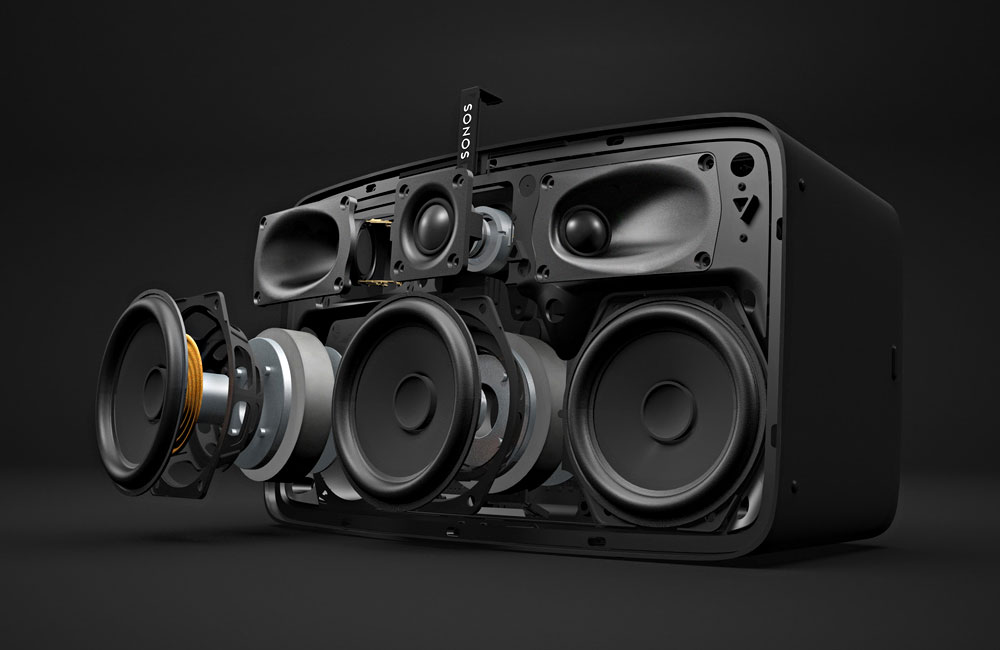 Sonos-Play-5-Wireless-Lautsprecher-Technik