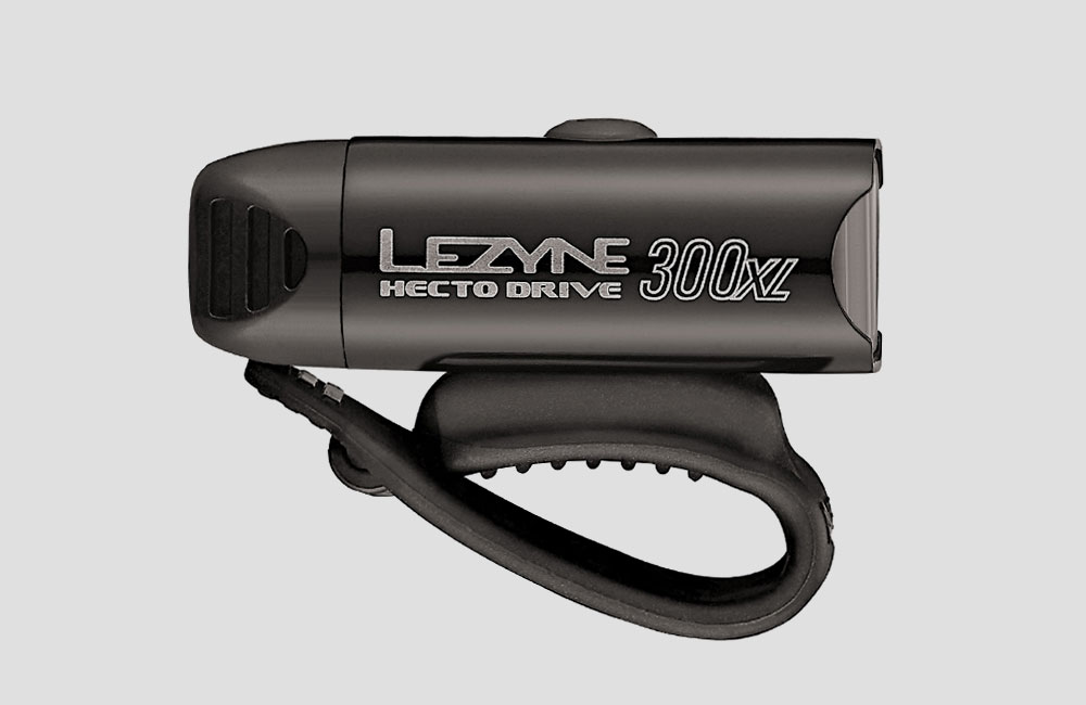 Lezyne-Hecto-Drive-XL-Front-Fahrrad-Scheinwerfer-Akku-Licht-Design-300-Lumen-Schwarz-USB