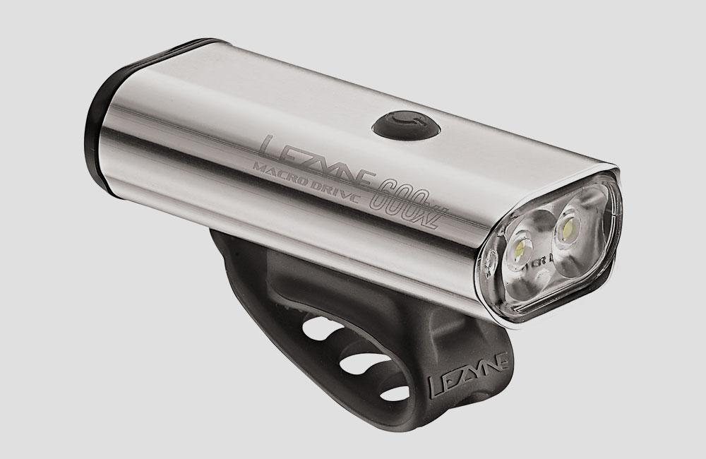 Lezyne-Macro-Drive-XL-Front-Fahrrad-Scheinwerfer-Akku-Licht-Design-600-Lumen-Silber-USB