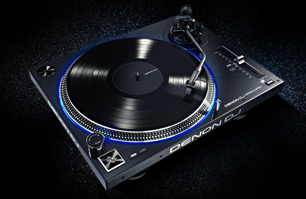 Denon-DJ-VL12-Turntable-Plattenspieler-Direct-Drive-2016