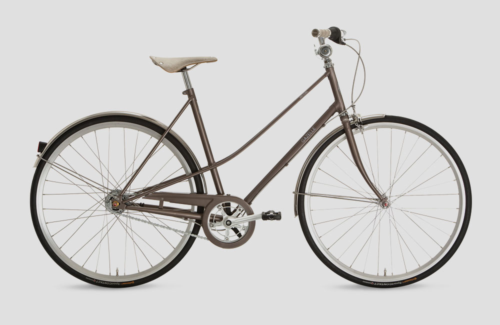 Gazelle-Van-Stael-LTD-Urban-Bike-Klassisches-Stahlrahmen-Stadtrad ...