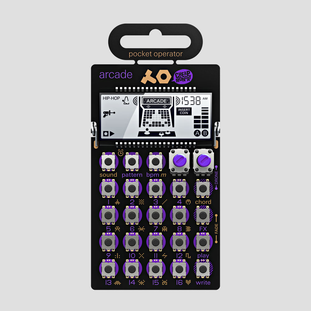 Teenage-Engineering-Cheap-Monday-Pocket-Operator-Mobile-Synthesizer-PO-20-Arcade