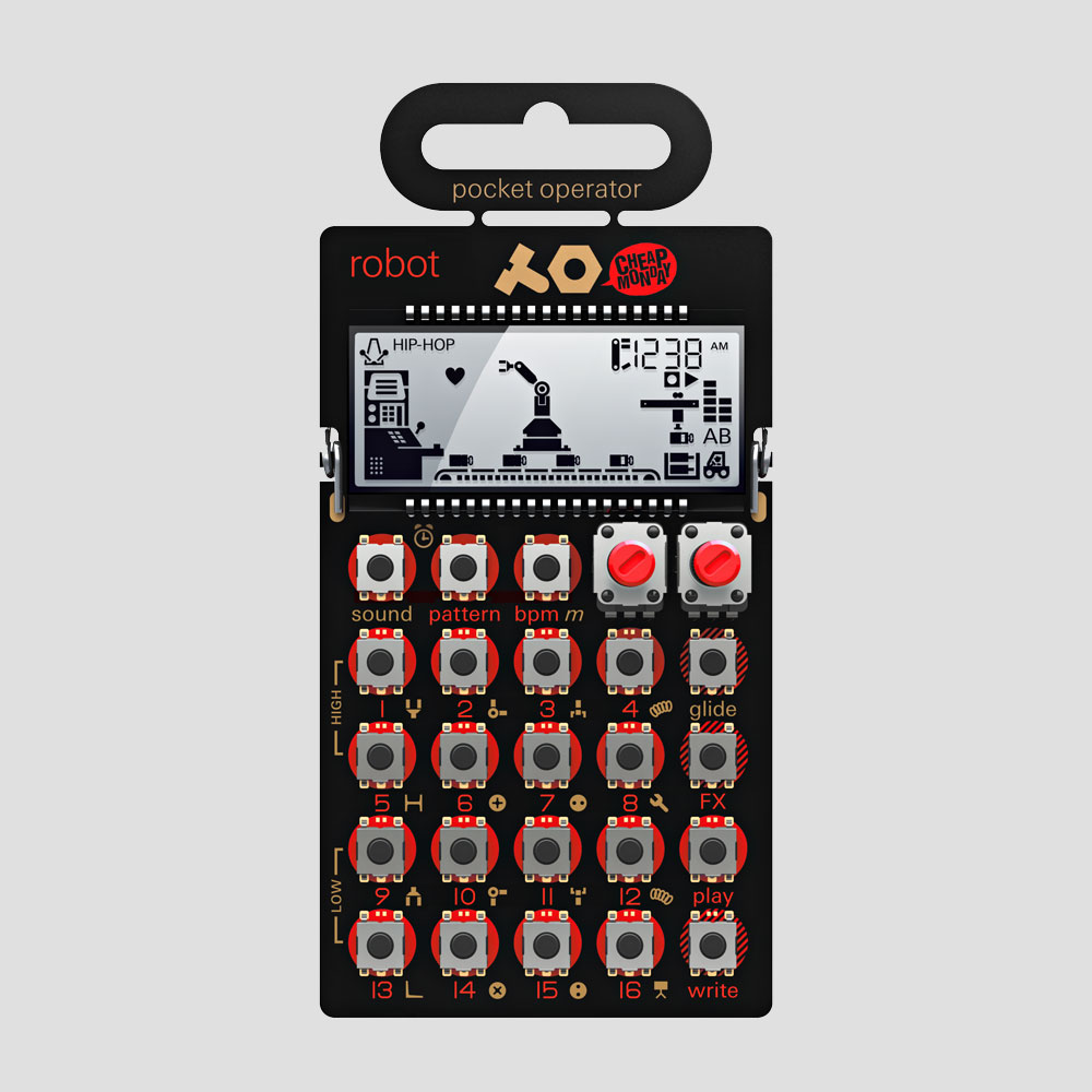 Teenage-Engineering-Cheap-Monday-Pocket-Operator-Mobile-Synthesizer-PO-28-Robot