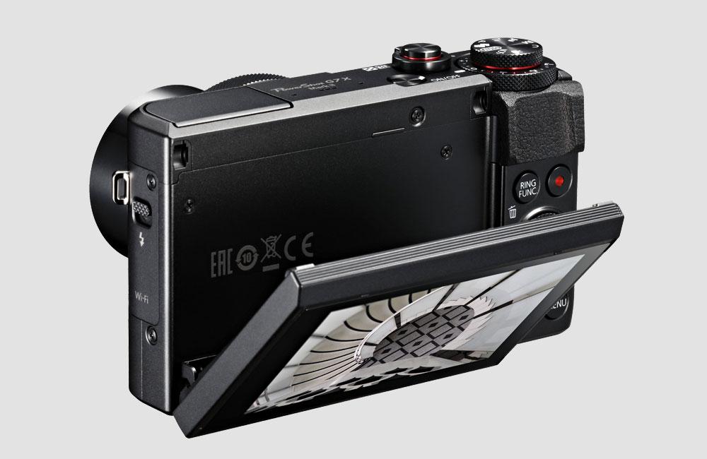 Canon-G7X-MKII-Sony-RX100-Konkurrent-20-Megapixel-Kompakt-Foto-Kamera-Klappdisplay