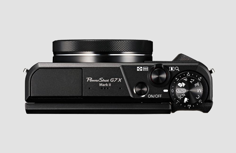 Canon-G7X-MKII-Sony-RX100-Konkurrent-20-Megapixel-Kompakt-Foto-Kamera-Oben