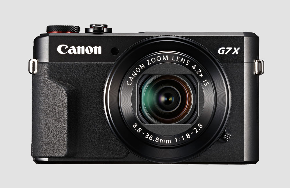 Canon-G7X-MKII-Sony-RX100-Konkurrent-20-Megapixel-Kompakt-Foto-Kamera-Vorne-Front