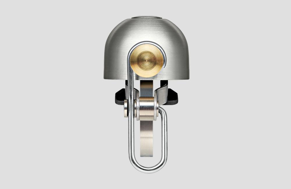 Kompakte-Fahrrad-Klingel-Spurcycle-Silber