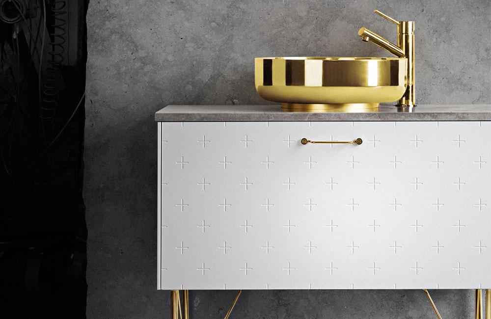 Superfront-Badezimmer-Kollektion-IKEA-Metod-Hack-Front-Beine-Waschbecken-1