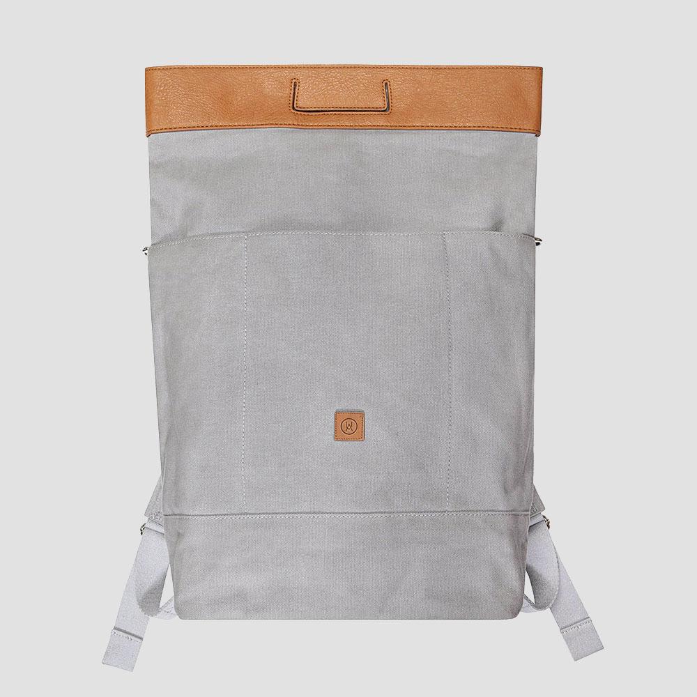 Ucon-Acrobatics-Tasche-Rucksack-Backpack-Canvas-Leder-Grau-Braun-3