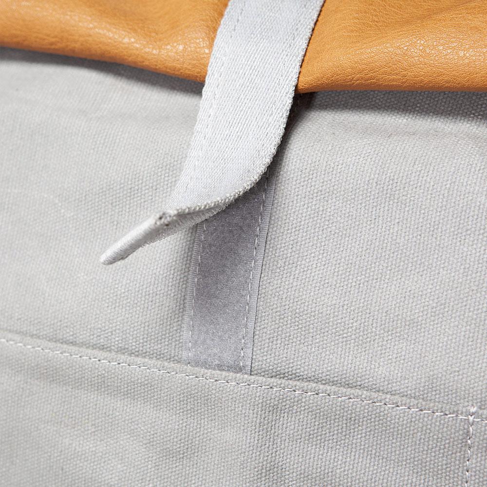 Ucon-Acrobatics-Tasche-Rucksack-Backpack-Canvas-Leder-Grau-Braun-6
