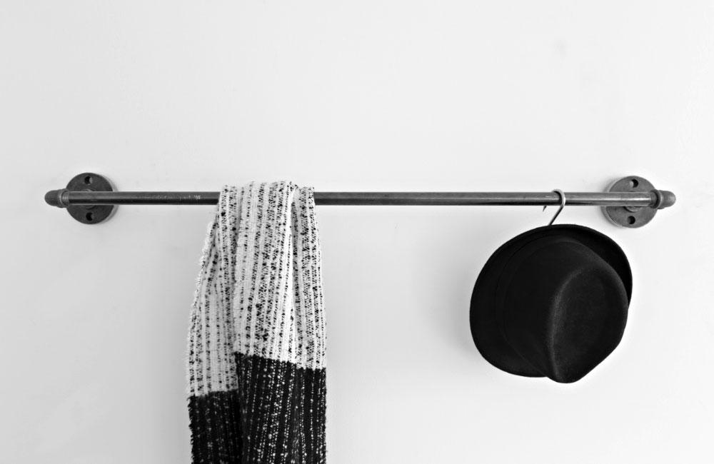 Various Stahlrohr Moebel Accessoires  Kleiderstaender Kleiderschrank Stahl Individuell