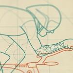 The Handmade Cyclist: Design-Poster für Fahrrad-Fans