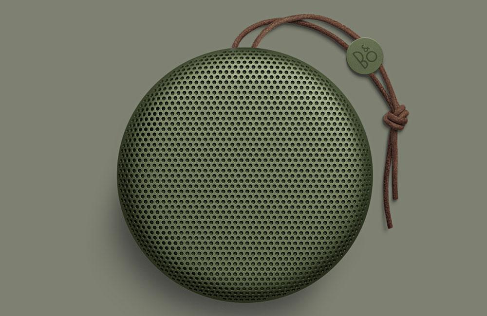 BeoPlay-A1-Compact-Aluminium-Bluetooth-Speaker-Lautsprecher-Bang-Olufsen-Gruen