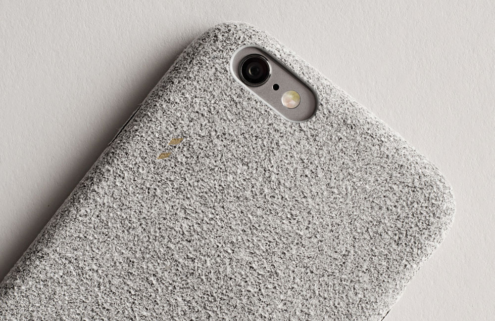 Hardgraft-Fuzzy-iPhone-Cover-Suede-Grey-1