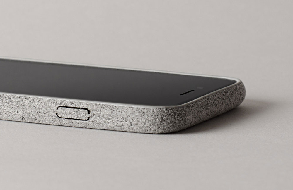 Hardgraft-Fuzzy-iPhone-Cover-Suede-Grey-3
