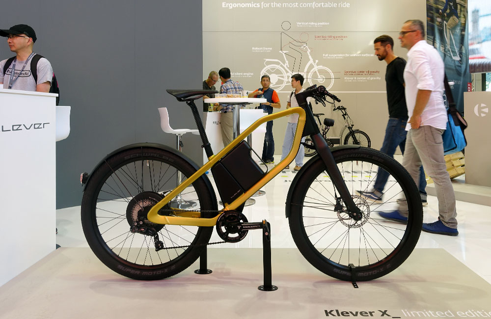 Eurobike-2016-News-Urban-Bike-Klever-X-Design-Pedelec-E-Bike