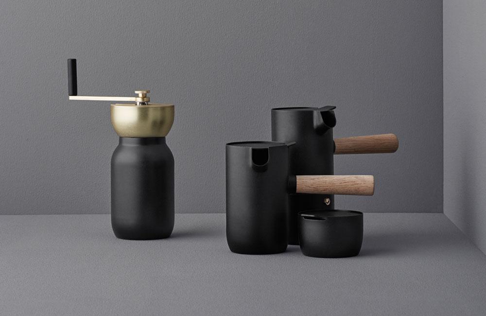 stelton-collar-kaffeemuehle-kaffee-espresso-set