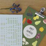Für einen grüneren Alltag: Saisonkalender für Obst- und Gemüse von anmutig