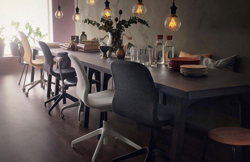 f hlt sich nicht nur im b ro zu hause ikeas neuer. Black Bedroom Furniture Sets. Home Design Ideas