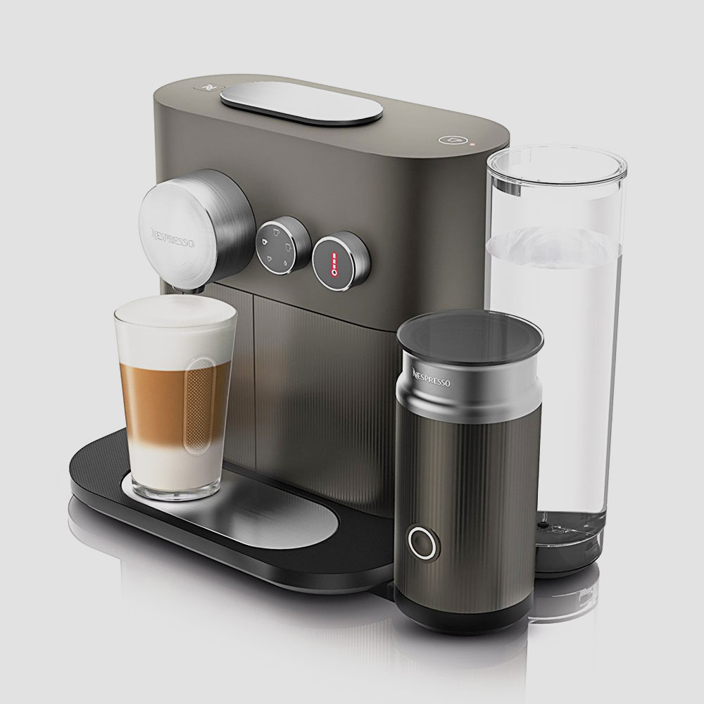 krups nespresso xn6008 kapselmaschine expert thermoblock. Black Bedroom Furniture Sets. Home Design Ideas