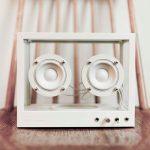 Lautsprecher als Designobjekt: Small Transparent Speaker von People People