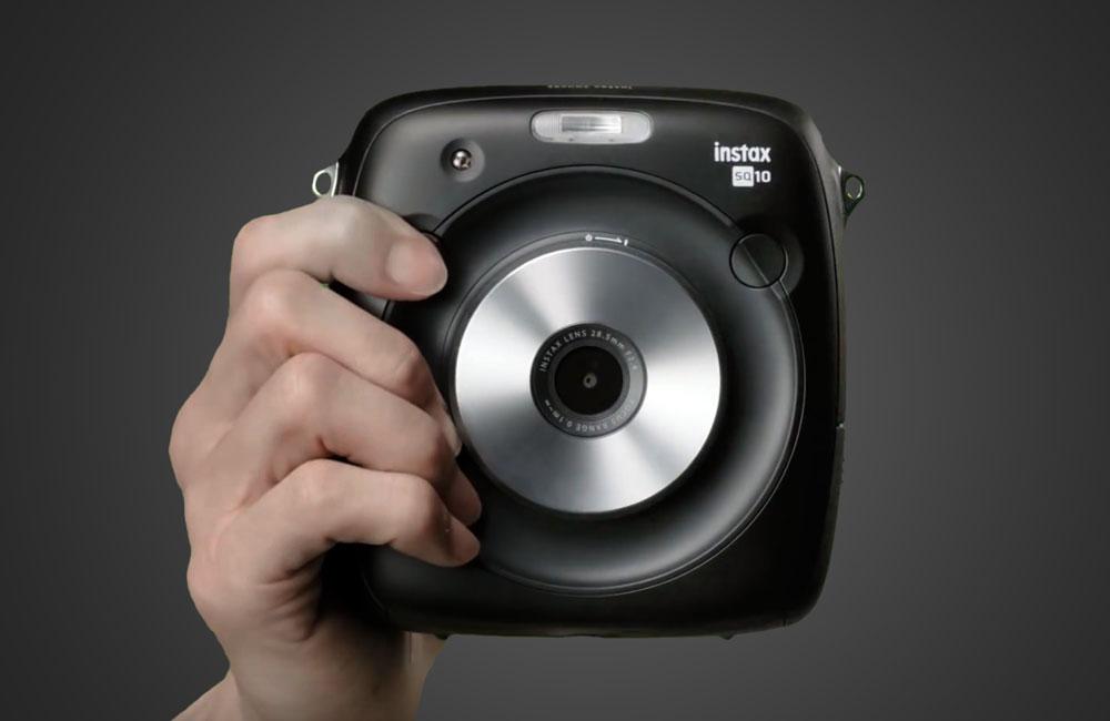 Fujifilm-Instax-Square-Sofortbild-Digitalkamera-Drucker-Vintage-Front