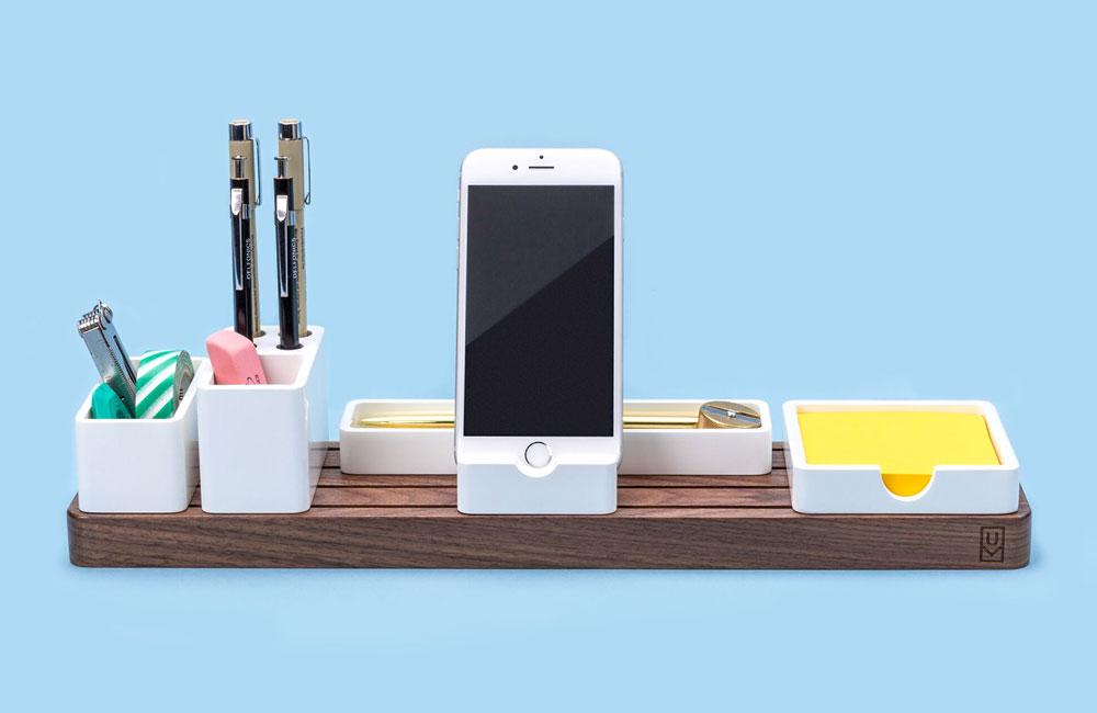 Ugmonk-Organizer-Schreibtisch-Kueche-Smartphone-Halter-1