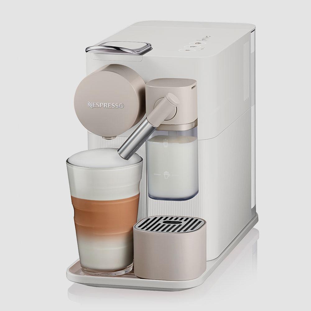 DeLonghi-Nespresso-Lattissima-One-Kapselmaschine-Weiss