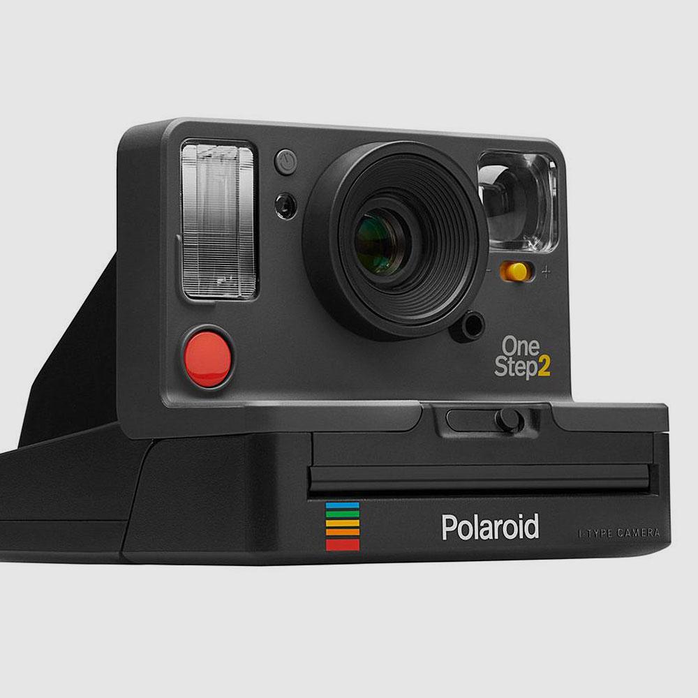 Polaroid-Originals-OneStep-2-Sofortbild-Kamera-Retro-Graphit
