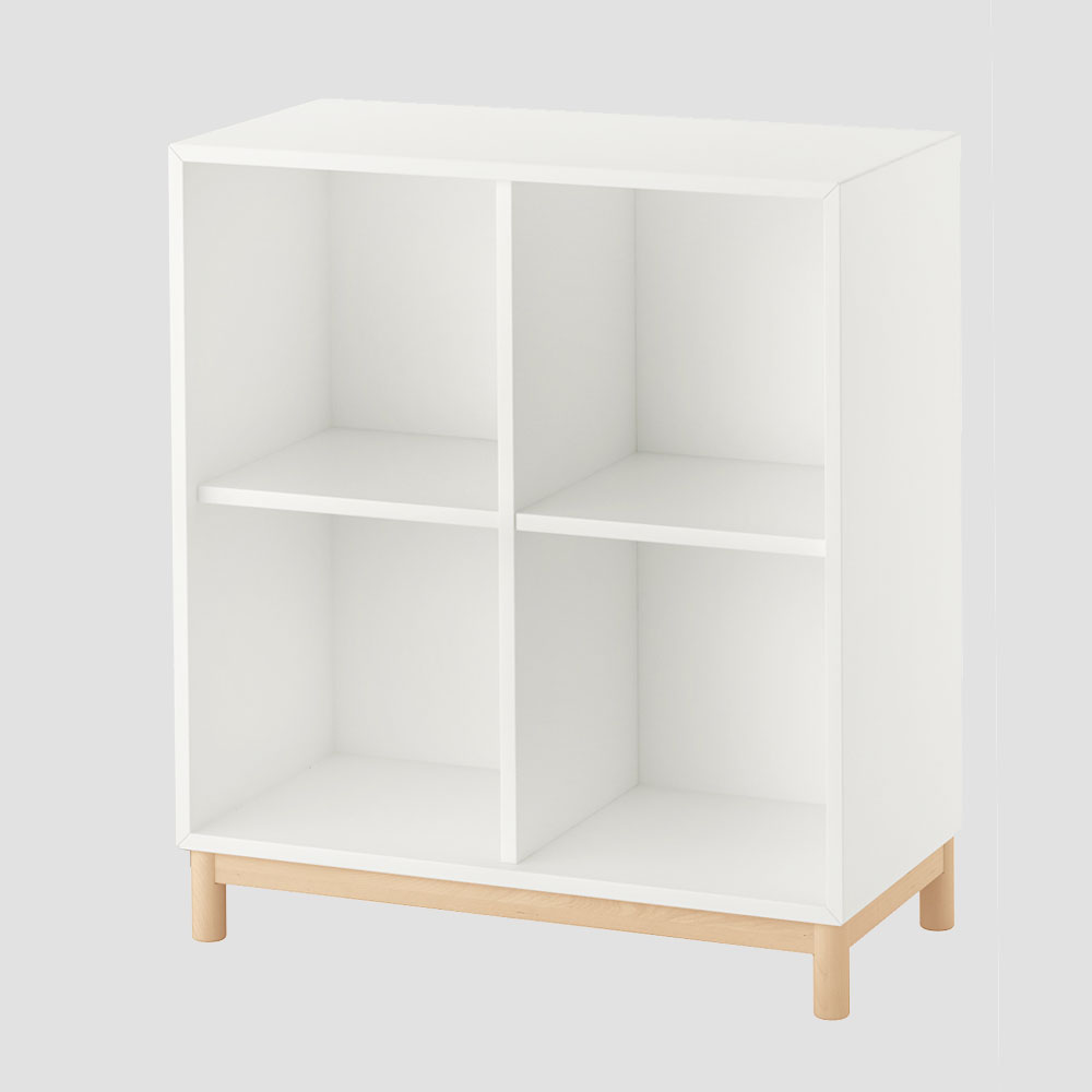 Modulares Schallplatten Regal Ikea Eket Unhyped