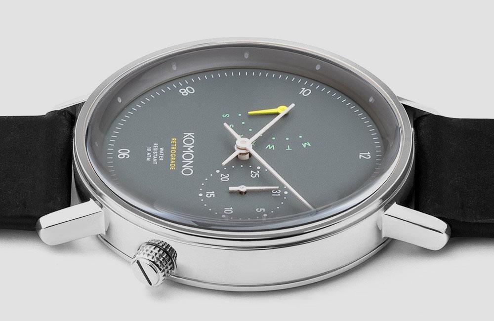 Komono-Walther-Retrograde-Watch-Blue
