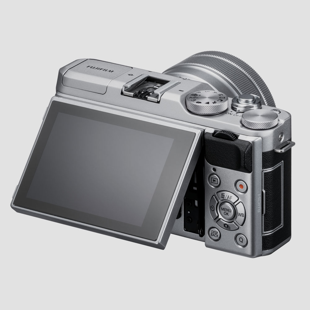 Fujifilm-X-A5-Mirrorless-Systemkamera-Einsteiger-Bluetooth-2018-Display