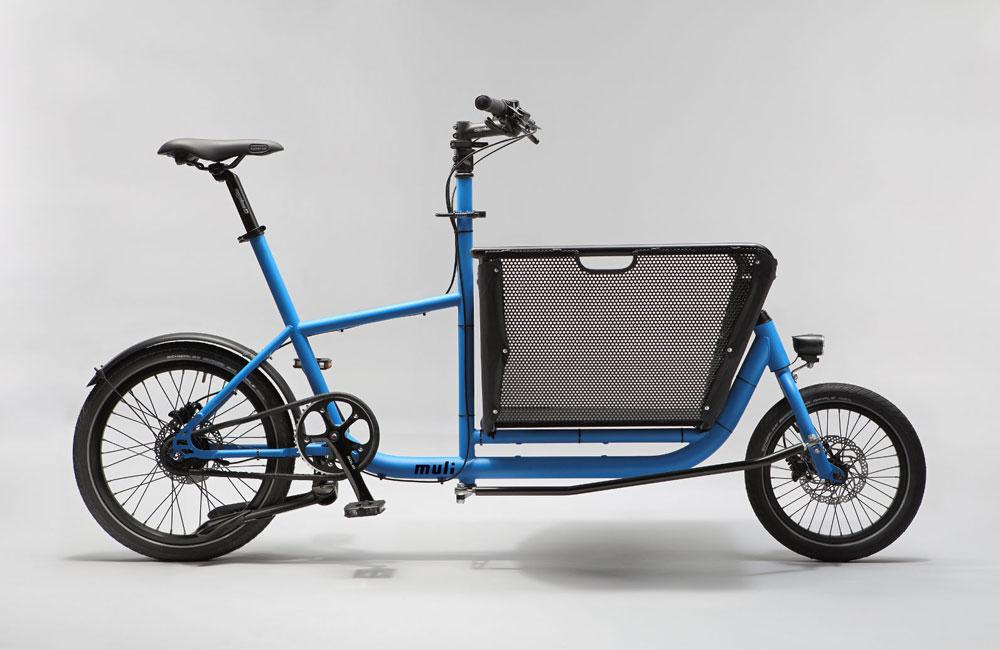 Muli-Cargobike-Lastenrad-Korb-Faltbar