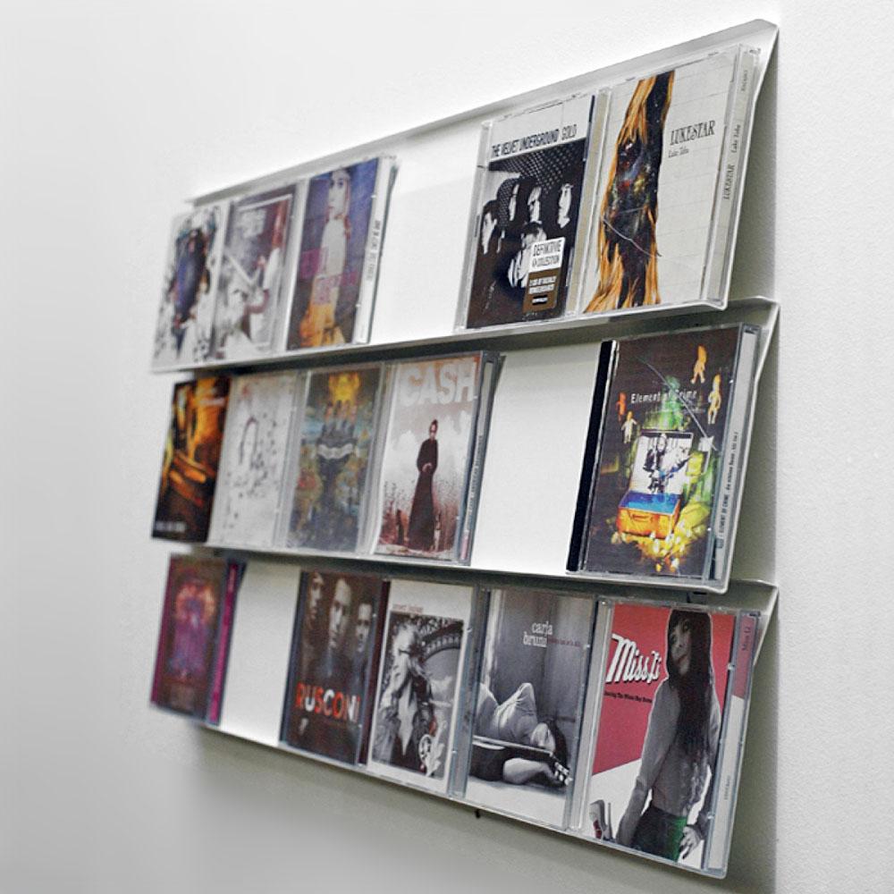 Ein Platz für die schönsten CD-Cover: DR12 CD-Display - unhyped.
