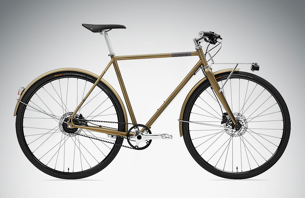 Urban-Bikes-2018-Zahnriemen-Creme-Cycles-Ristretto-Lightning-Bronze