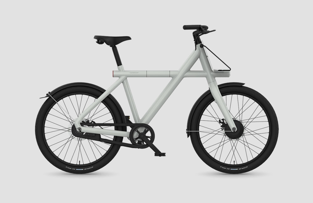 vanmoof electrified 2018 urban e bikes mit integriertem. Black Bedroom Furniture Sets. Home Design Ideas