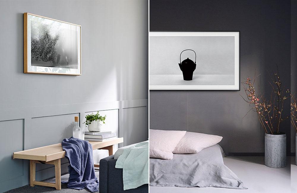 im detail verbessert samsungs bilderrahmen fernseher the frame unhyped. Black Bedroom Furniture Sets. Home Design Ideas